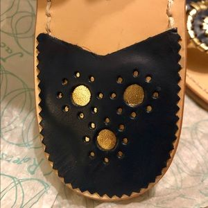 Jack Rogers Shoes - New in Box- Jack Rogers Navy Sandals